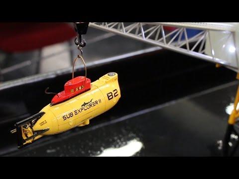 T2M Mini U-Boot Sub Explorer - Remote Controlled Miniature Submarine