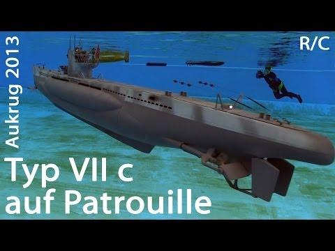 U-BOOT Typ VII c   submarine Type 7c - a grey wolf - SUBWATERFILM