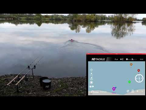 New Direction Tackle Futterboot mit Autopilot Vorstellung. Bait Boat with Autopilot.